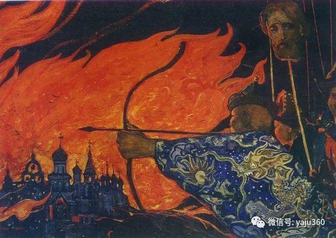 俄罗斯Ilya Glazunov油画作品插图28
