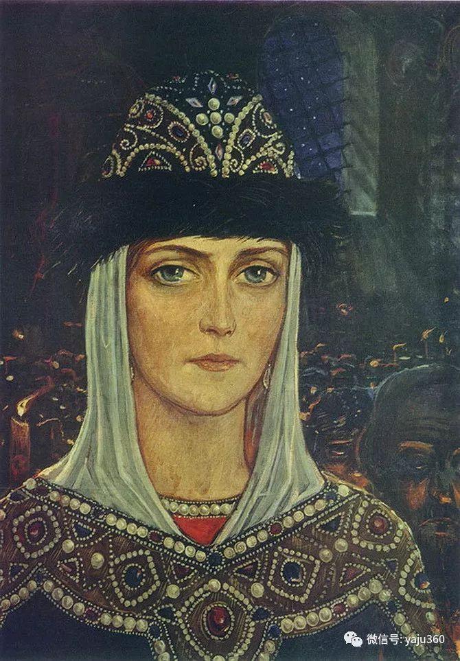 俄罗斯Ilya Glazunov油画作品插图29