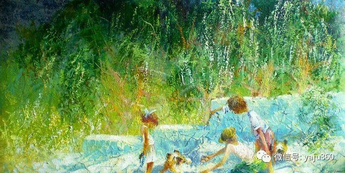 风景油画欣赏 俄罗斯Sidwal插图1