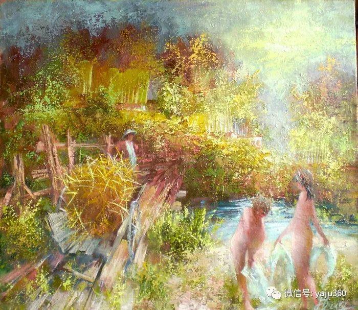 风景油画欣赏 俄罗斯Sidwal插图3