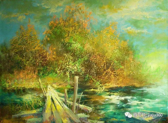 风景油画欣赏 俄罗斯Sidwal插图5
