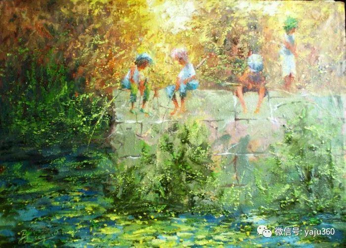 风景油画欣赏 俄罗斯Sidwal插图7