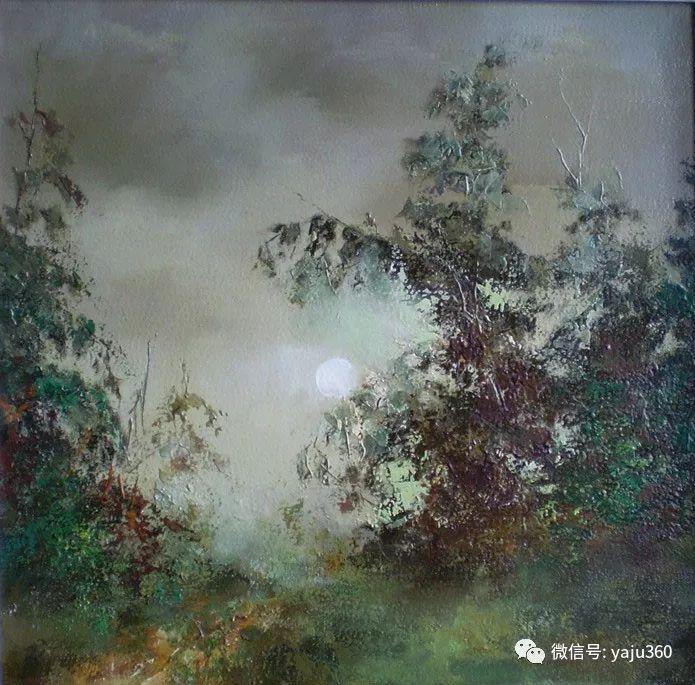 风景油画欣赏 俄罗斯Sidwal插图11