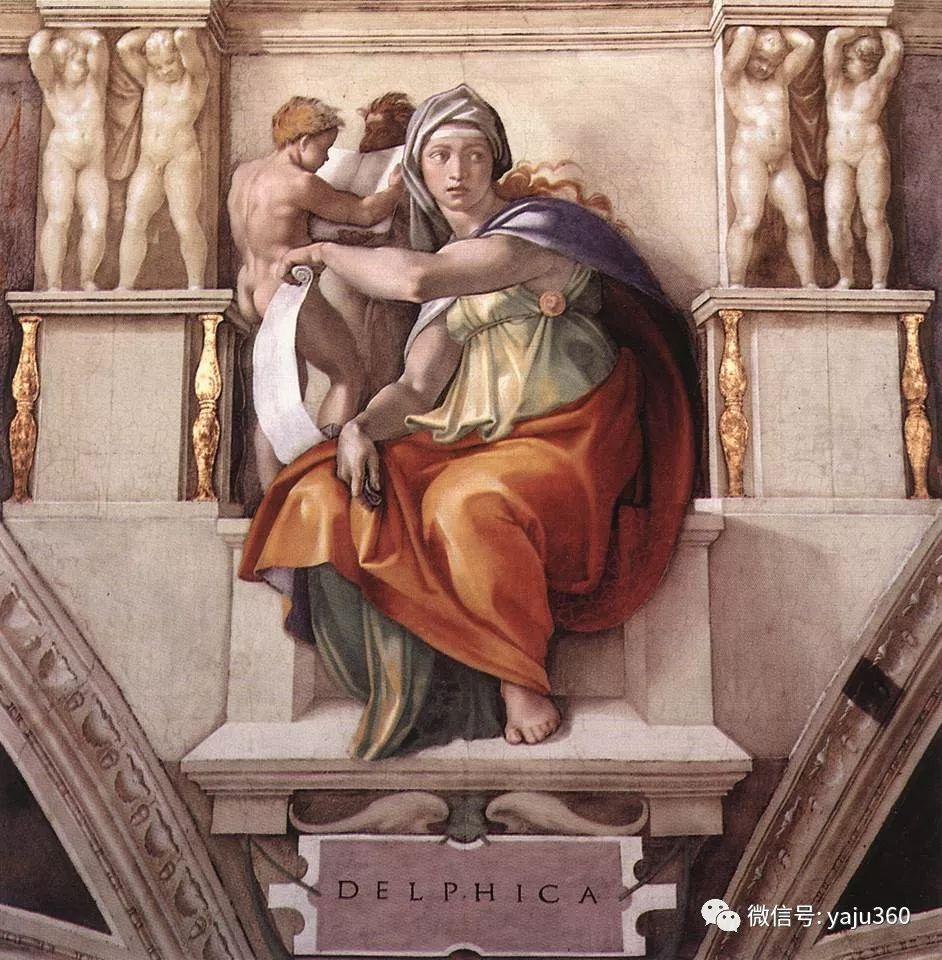 文艺复兴三杰 意大利画家Michelangelo插图7