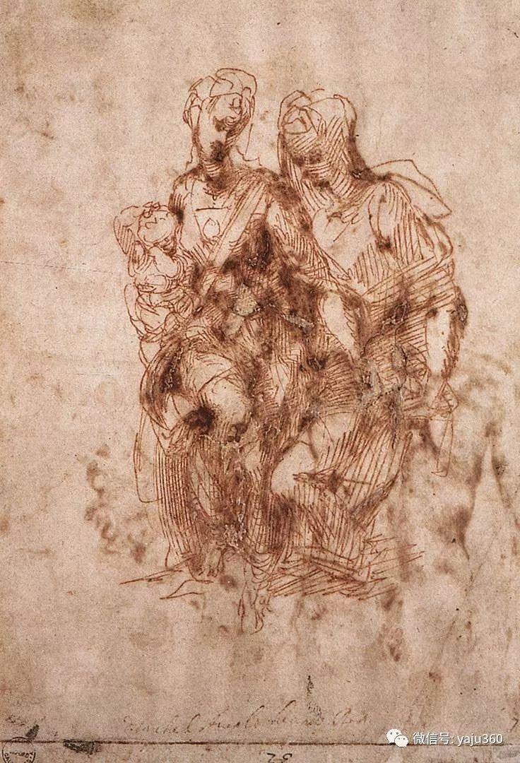 文艺复兴三杰 意大利画家Michelangelo插图21