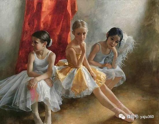 乌兹别克斯坦Arsen Kurbanov油画欣赏插图1