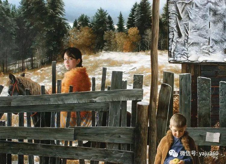 乌兹别克斯坦Arsen Kurbanov油画欣赏插图3