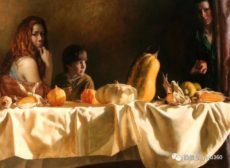 乌兹别克斯坦Arsen Kurbanov油画欣赏插图5