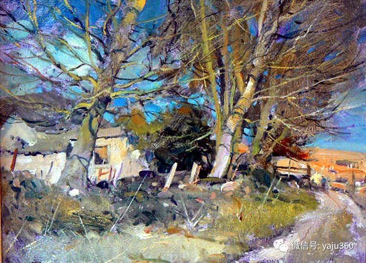 风景油画欣赏 英国David Curtis插图1