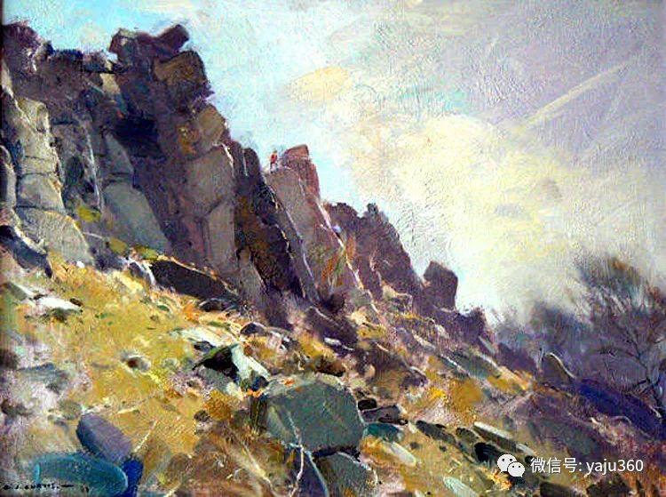 风景油画欣赏 英国David Curtis插图21