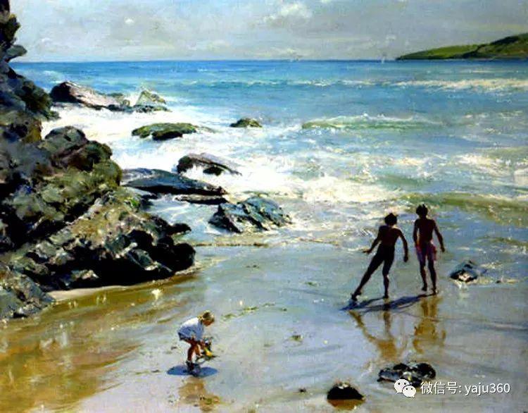 风景油画欣赏 英国David Curtis插图29