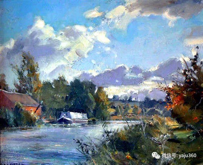 风景油画欣赏 英国David Curtis插图37