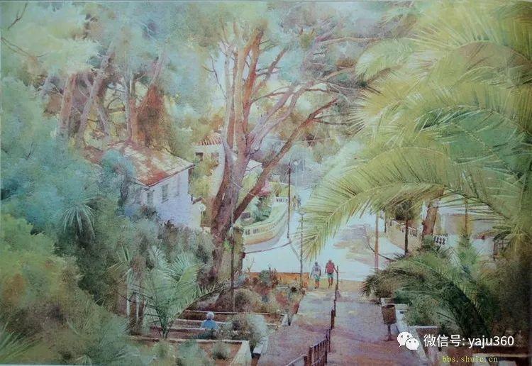 风景油画欣赏 英国David Curtis插图43