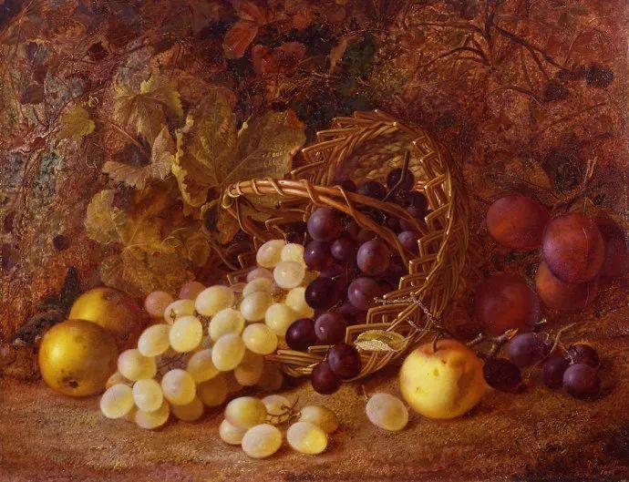 静物花卉油画欣赏 英国文森特·克莱尔插图29