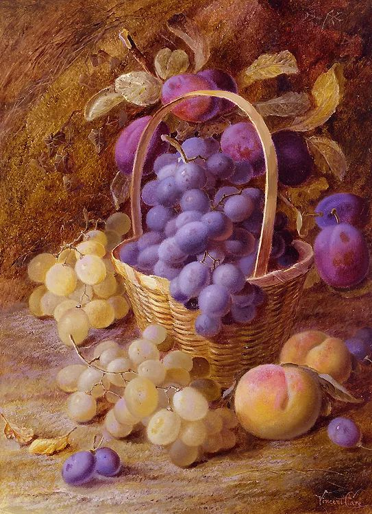 静物花卉油画欣赏 英国文森特·克莱尔插图31