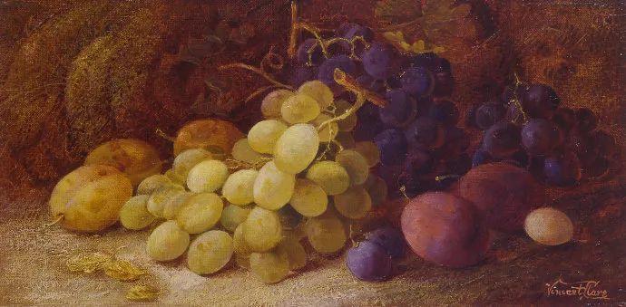 静物花卉油画欣赏 英国文森特·克莱尔插图37