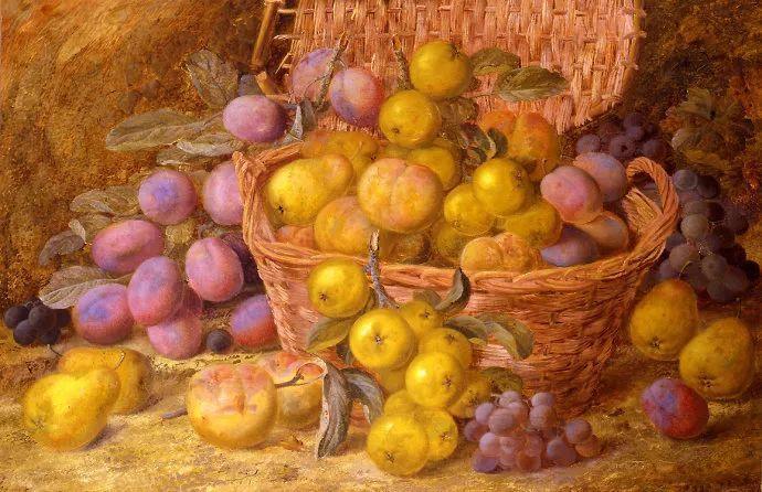 静物花卉油画欣赏 英国文森特·克莱尔插图39