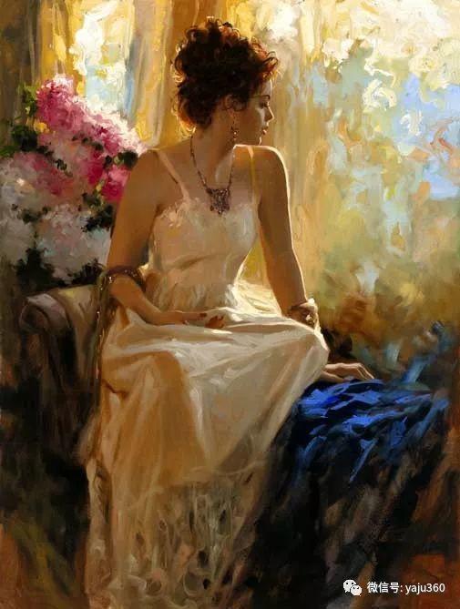 优美的女子油画欣赏 Richard S Johnson插图3