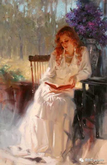 优美的女子油画欣赏 Richard S Johnson插图5