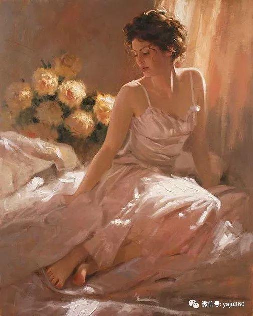 优美的女子油画欣赏 Richard S Johnson插图7