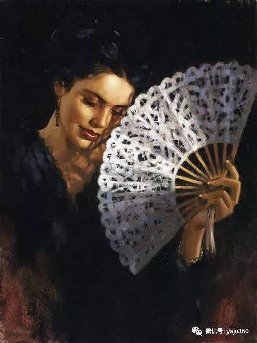 优美的女子油画欣赏 Richard S Johnson插图9