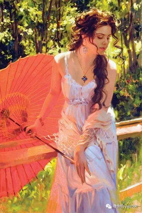 优美的女子油画欣赏 Richard S Johnson插图13