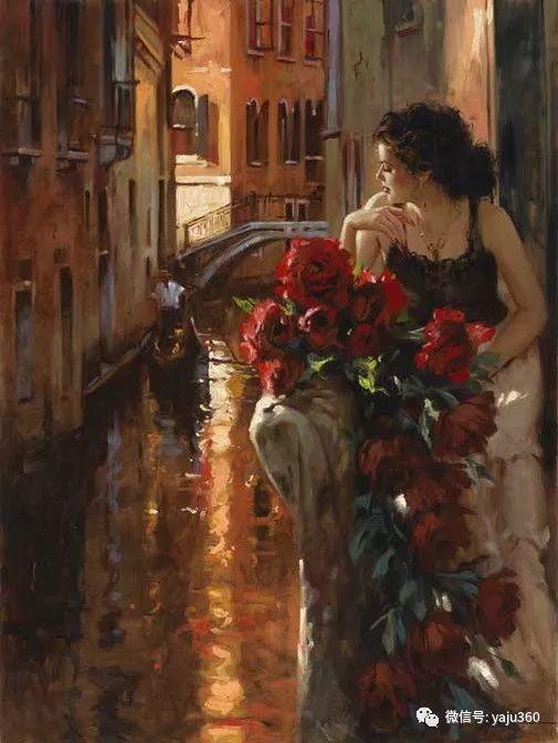 优美的女子油画欣赏 Richard S Johnson插图17
