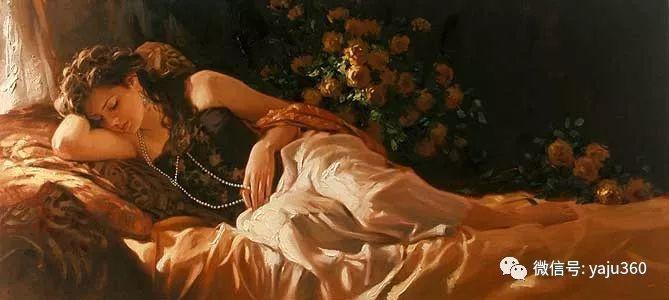 优美的女子油画欣赏 Richard S Johnson插图19