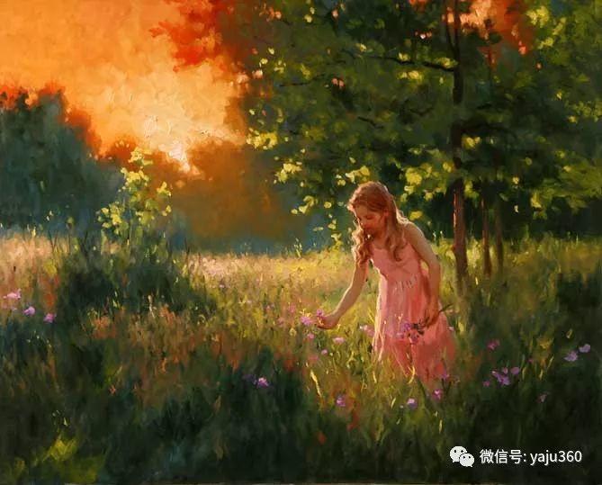 优美的女子油画欣赏 Richard S Johnson插图25