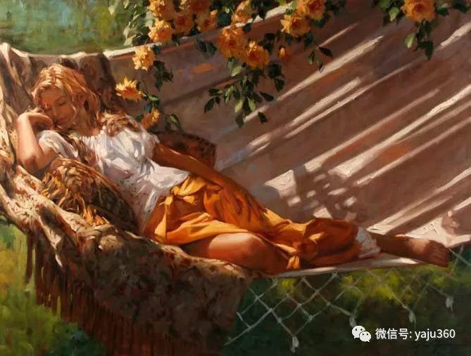 优美的女子油画欣赏 Richard S Johnson插图27