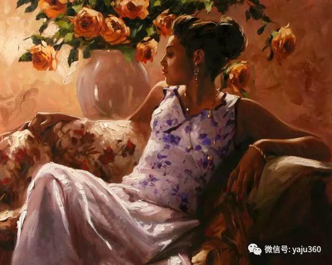 优美的女子油画欣赏 Richard S Johnson插图29