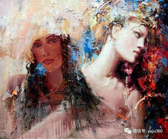 人物油画欣赏 俄罗斯Mstislav Pavlov插图15