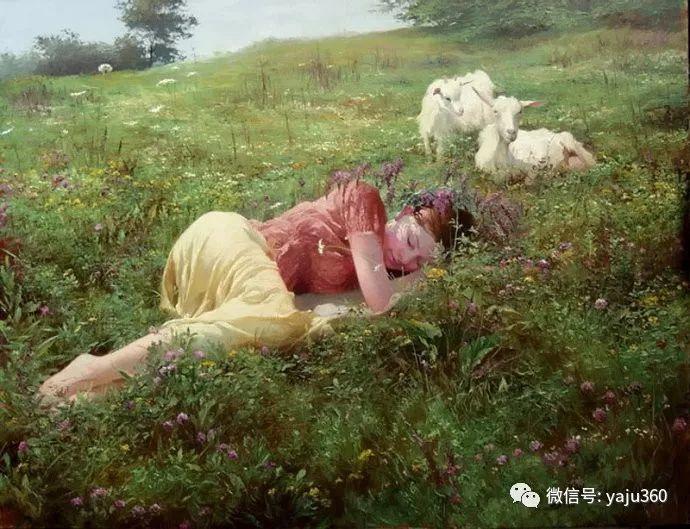 古典乡村油画 乌克兰Yuri Klapoukh插图1