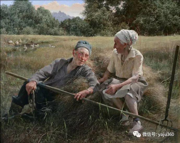 古典乡村油画 乌克兰Yuri Klapoukh插图5