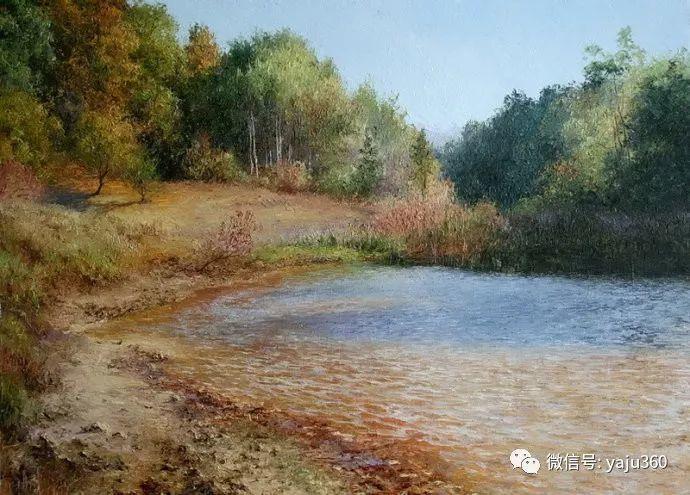 古典乡村油画 乌克兰Yuri Klapoukh插图21