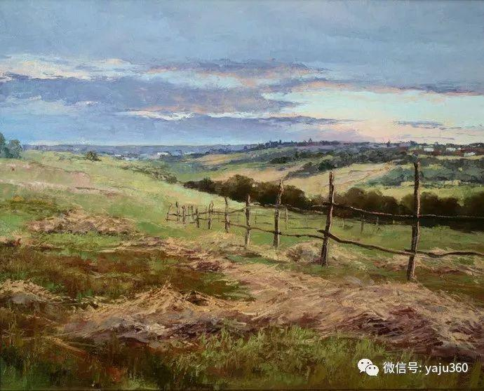 古典乡村油画 乌克兰Yuri Klapoukh插图27