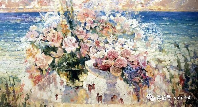 花卉风景油画 俄罗斯Sergey Kuzin插图