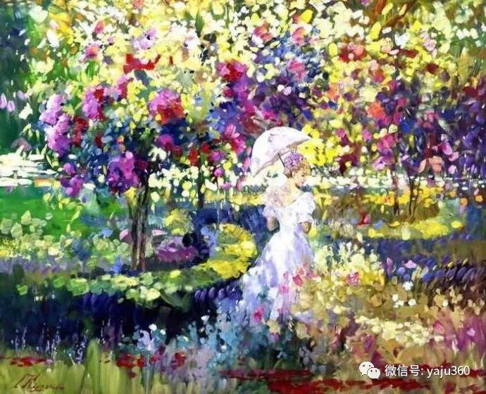 花卉风景油画 俄罗斯Sergey Kuzin插图1