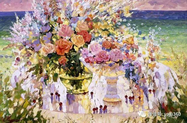 花卉风景油画 俄罗斯Sergey Kuzin插图2