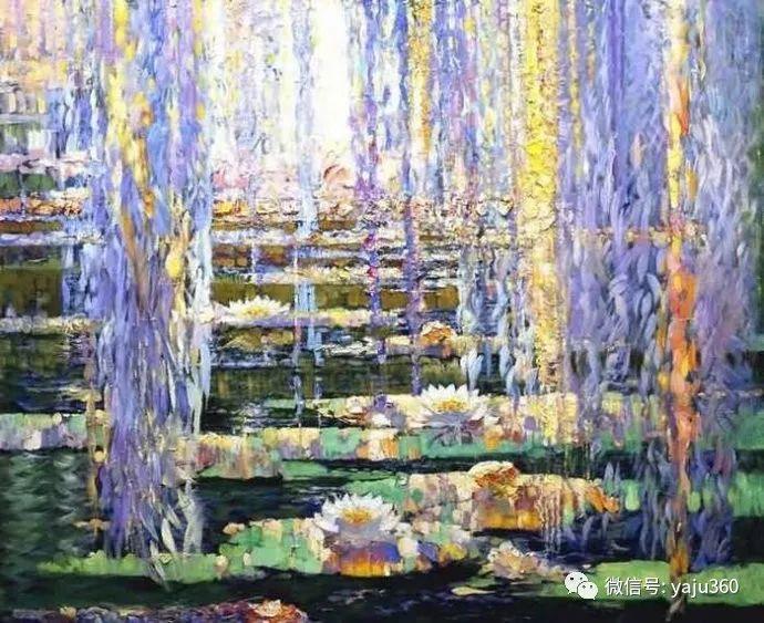 花卉风景油画 俄罗斯Sergey Kuzin插图3