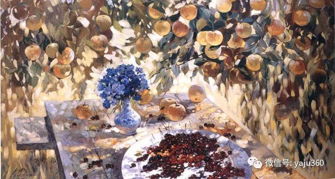 花卉风景油画 俄罗斯Sergey Kuzin插图4