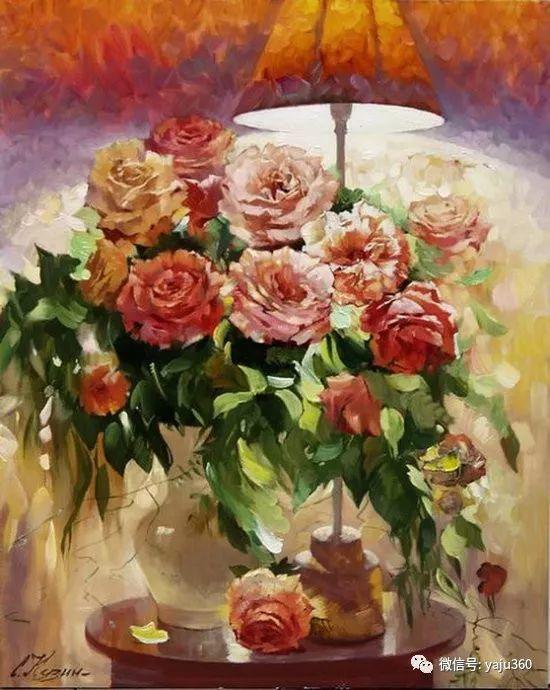 花卉风景油画 俄罗斯Sergey Kuzin插图5