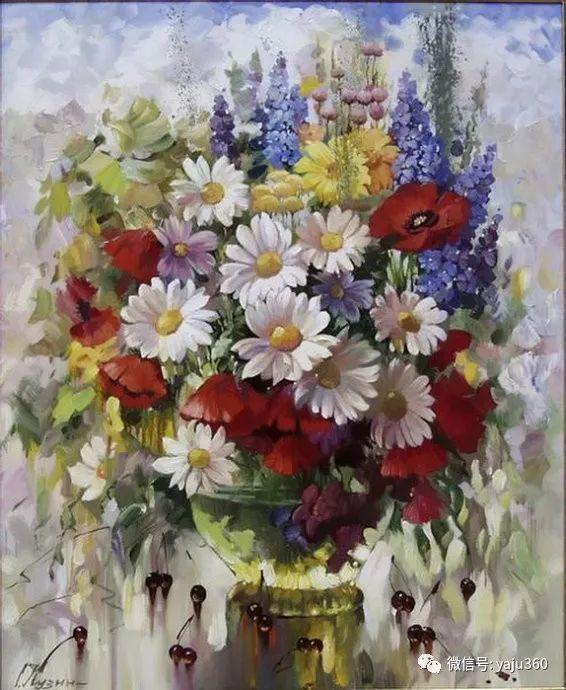花卉风景油画 俄罗斯Sergey Kuzin插图6