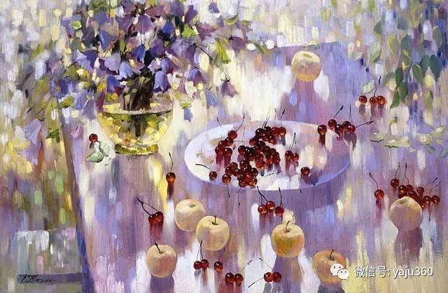 花卉风景油画 俄罗斯Sergey Kuzin插图8