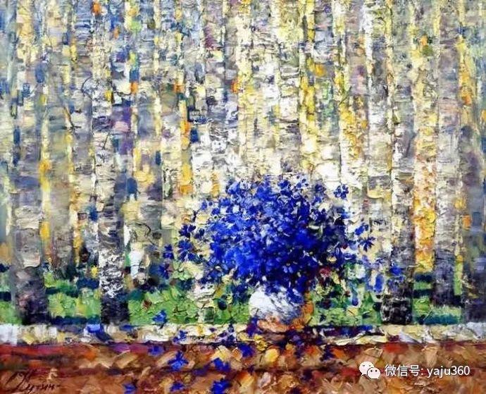 花卉风景油画 俄罗斯Sergey Kuzin插图9