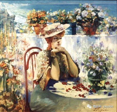 花卉风景油画 俄罗斯Sergey Kuzin插图11