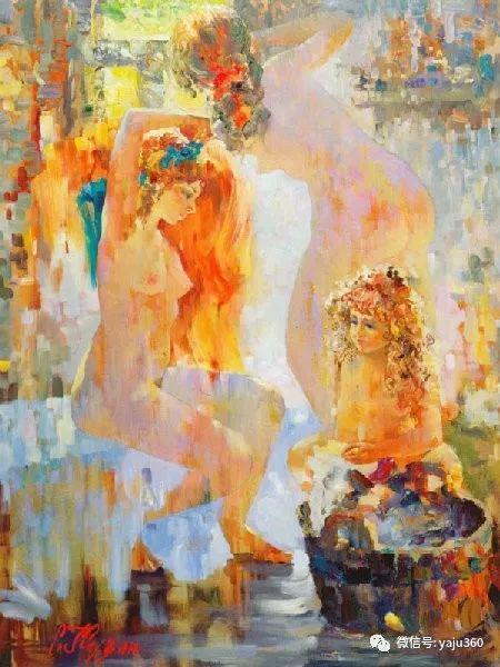 花卉风景油画 俄罗斯Sergey Kuzin插图14