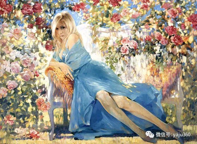 花卉风景油画 俄罗斯Sergey Kuzin插图15