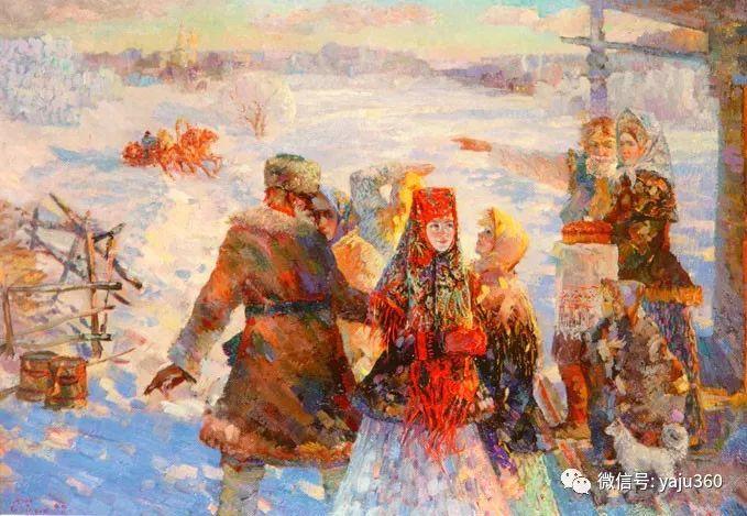 花卉风景油画 俄罗斯Sergey Kuzin插图16