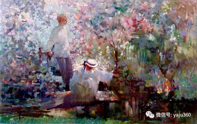 花卉风景油画 俄罗斯Sergey Kuzin插图17